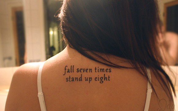 Tatuagens De Frases Para Se Inspirar Dose De Ilusão