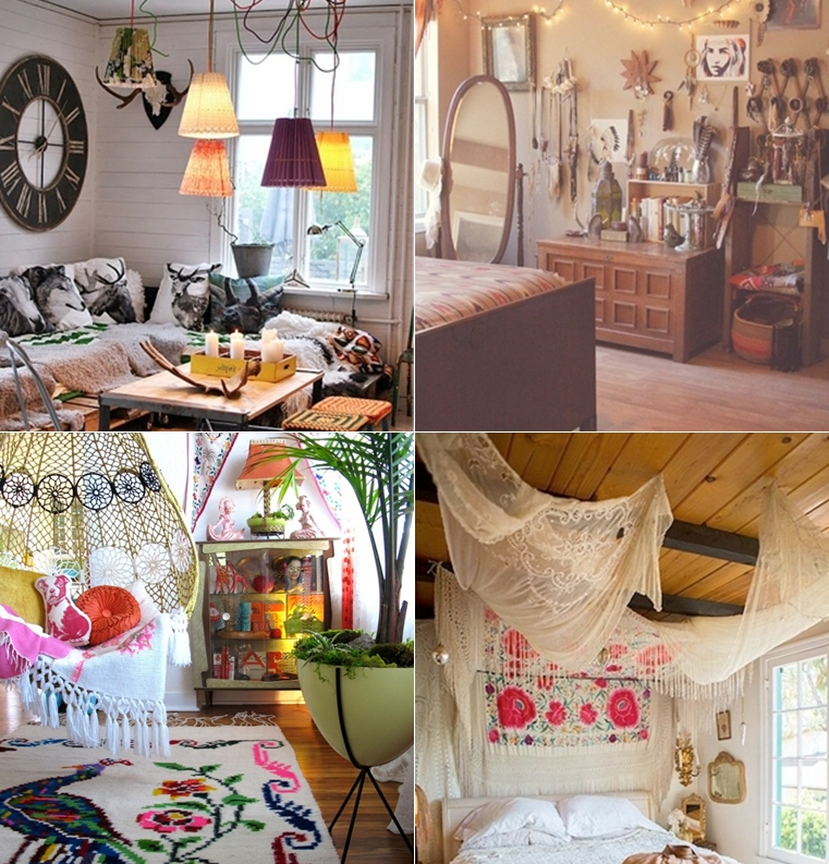 Decoracao De Sala Hippie Chic ~ estilo boho chic decoracao