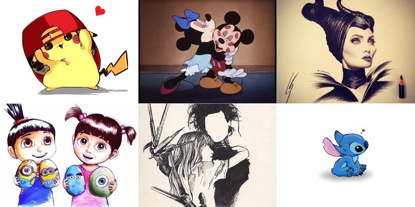 ilustrações-quadro-personagem