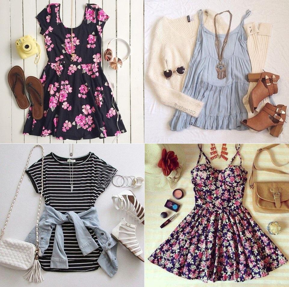 look-para-dias-quentes-vestidos