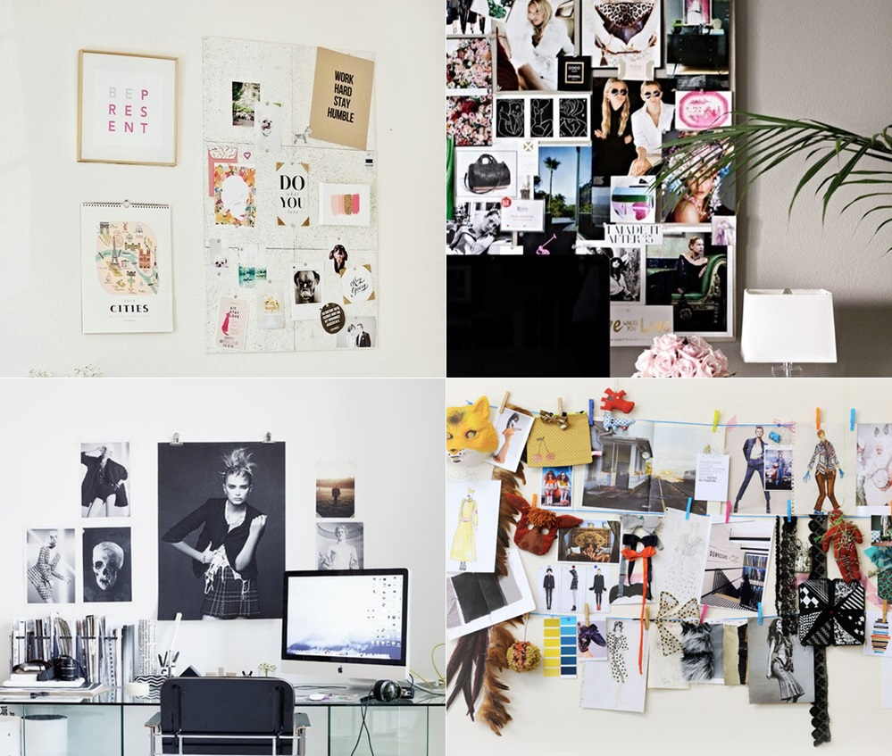 Decora O Mural De Inspira Es Dose De Ilus O ~ Mural De Fotos Na Parede Do Quarto