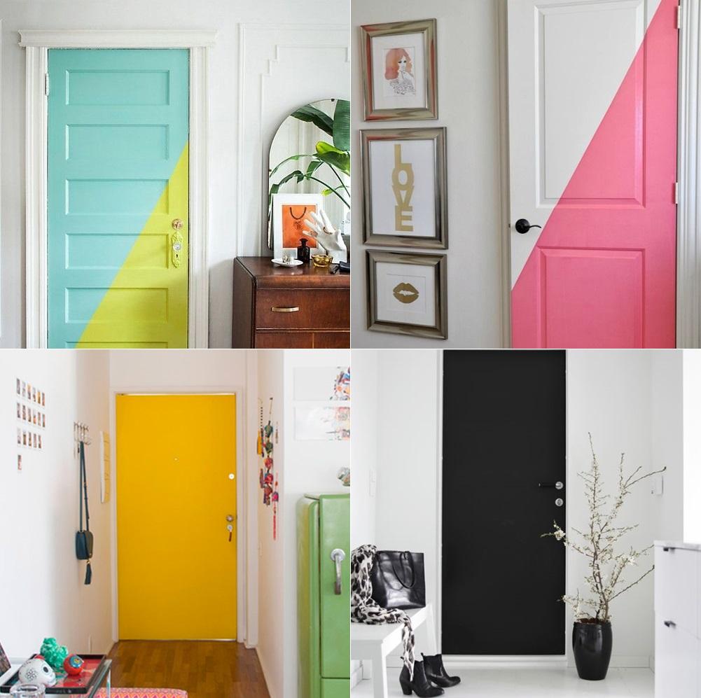 ideias-de-decoração-porta-pintadas