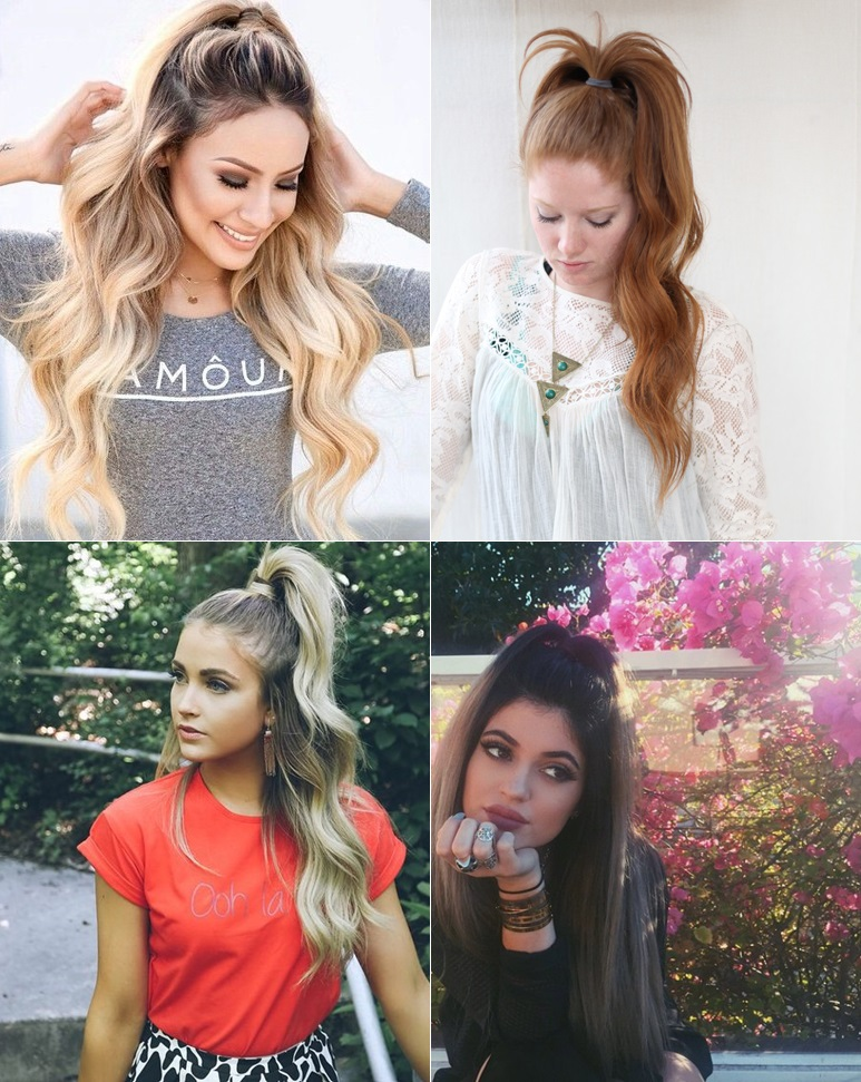 cabelo-half-ponytail
